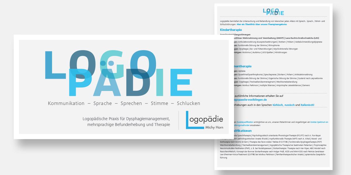 portfolio-logopaedie-michy-horn-flyer